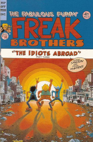 Fabulous Furry Freak Brothers # 10, $4.95 cp