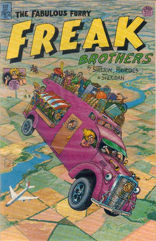 Fabulous Furry Freak Brothers # 11,  1st print