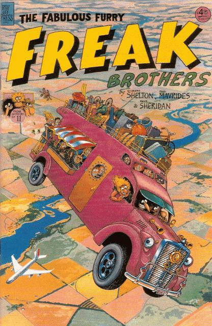 Fabulous Furry Freak Brothers # 11, $4.95 cp