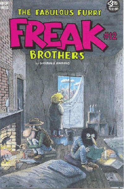 Fabulous Furry Freak Brothers # 12, $3.95 cp