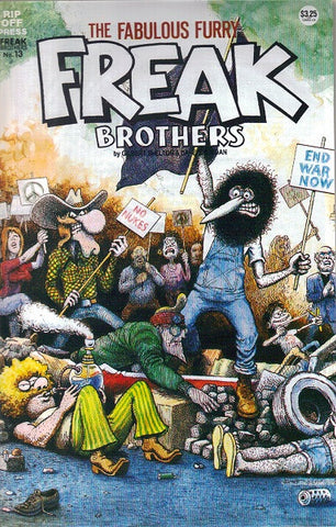 Fabulous Furry Freak Brothers # 13, $3.25 cp