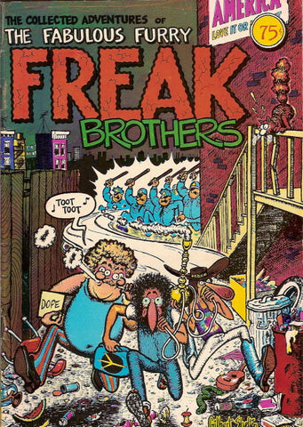 Fabulous Furry Freak Brothers #  1, 12th print