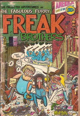 Fabulous Furry Freak Brothers #  1, 9th print - pink paper