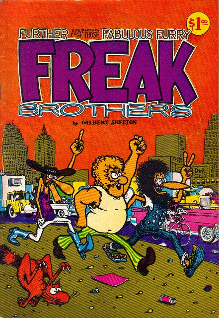 Fabulous Furry Freak Brothers #  2, 9th print