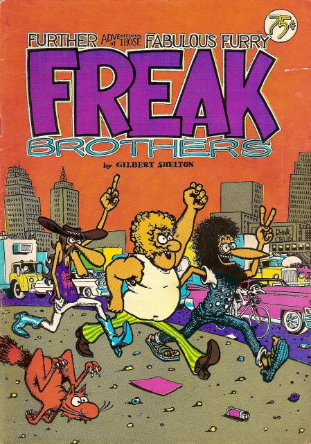 Fabulous Furry Freak Brothers #  2, 8th print