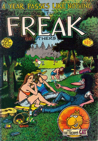 Fabulous Furry Freak Brothers #  3,  6th print