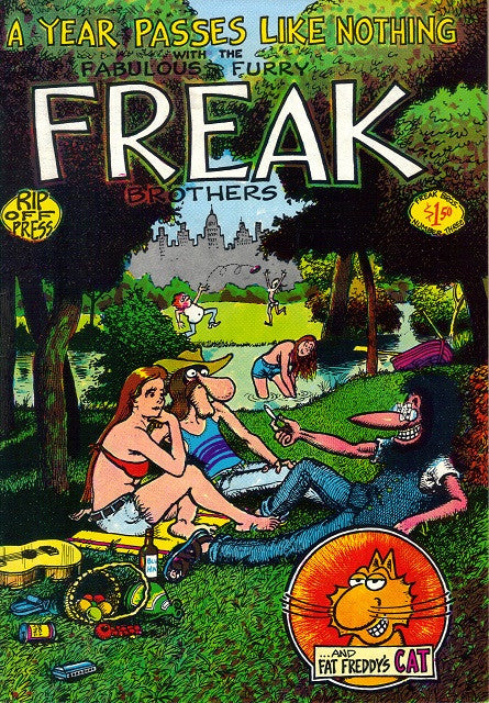 Fabulous Furry Freak Brothers #  3,  7th print