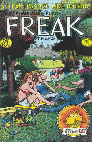 Fabulous Furry Freak Brothers #  3, 13th print