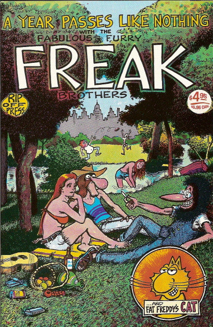 Fabulous Furry Freak Brothers #  3, 14th print