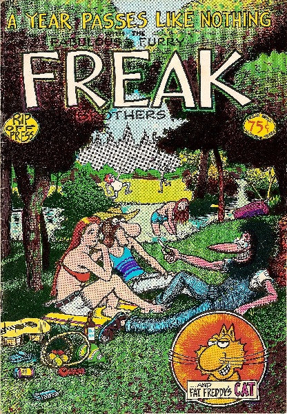 Fabulous Furry Freak Brothers #  3,  4th print
