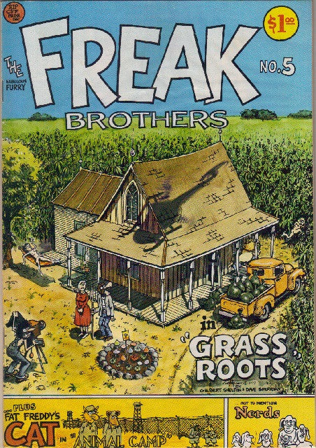 Fabulous Furry Freak Brothers #  5,  2nd print