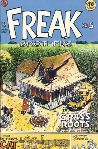 Fabulous Furry Freak Brothers #  5, 11th print