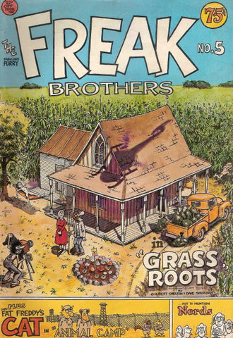 Fabulous Furry Freak Brothers #  5,  1st print