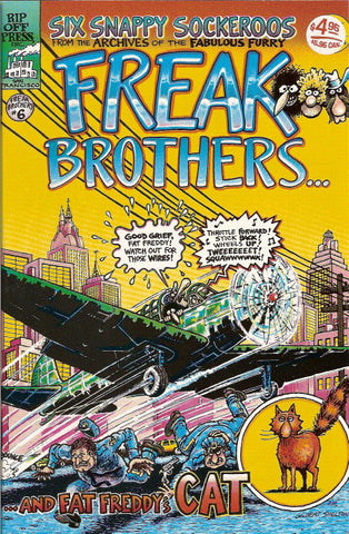 Fabulous Furry Freak Brothers #  6, 9th print