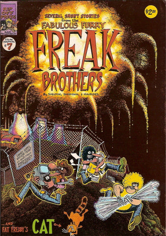 Fabulous Furry Freak Brothers #  7, 1st print