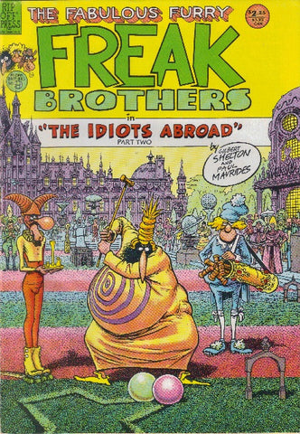 Fabulous Furry Freak Brothers #  9, 2nd print