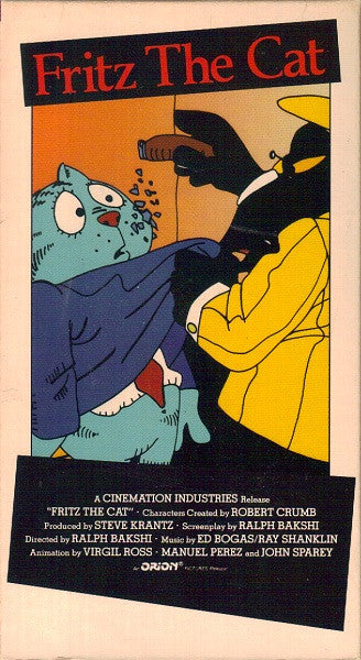 Fritz the Cat (VHS) - Robert Crumb