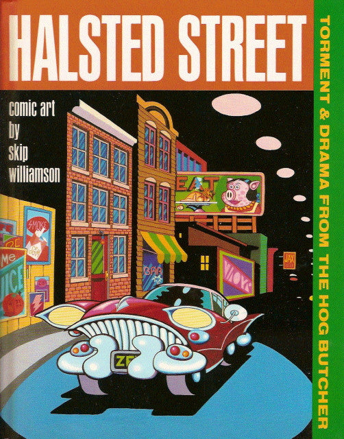 Halsted Street - Hardcover, signed & numbered