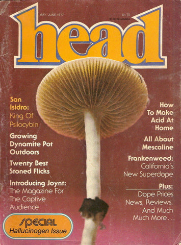 Head Magazine volume 2 number 3 - May/June 1977