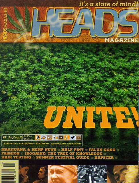 HEADS Magazine #  1 - Aug/Sept 2000