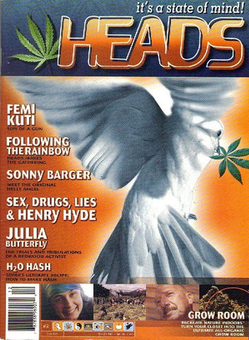 HEADS Magazine #  2 - Dec 2000