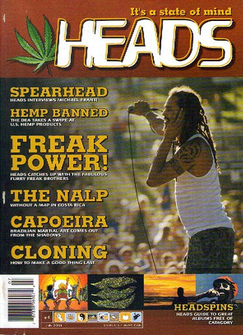 HEADS Magazine #  4 - July 2001