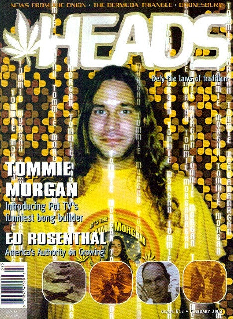 HEADS Magazine # 12 - Feb 2003