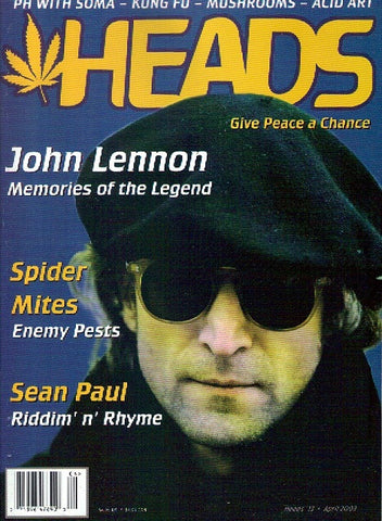 HEADS Magazine # 13 - April 2003