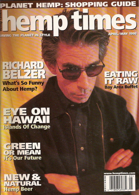 Hemp Times volume 2 number 3 - April/May 1998