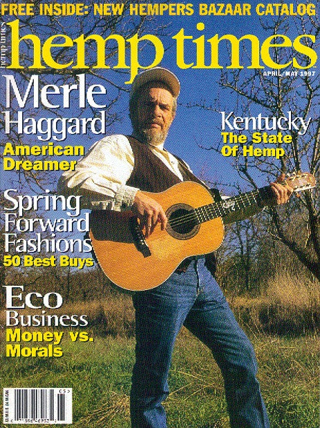 Hemp Times volume 1 number 4 - April/May 1997