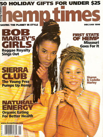 Hemp Times volume 2 number 1 - Dec/Jan 1998