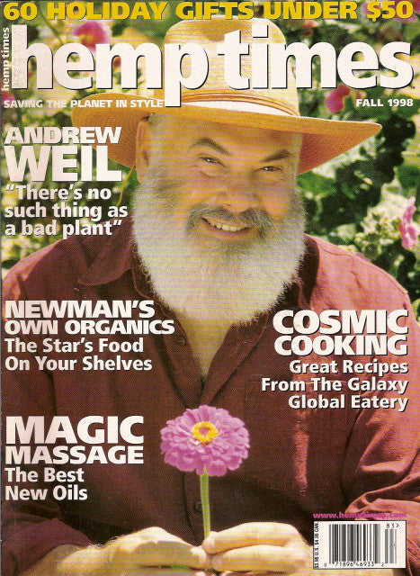 Hemp Times volume 2 number 7 - Fall 1998