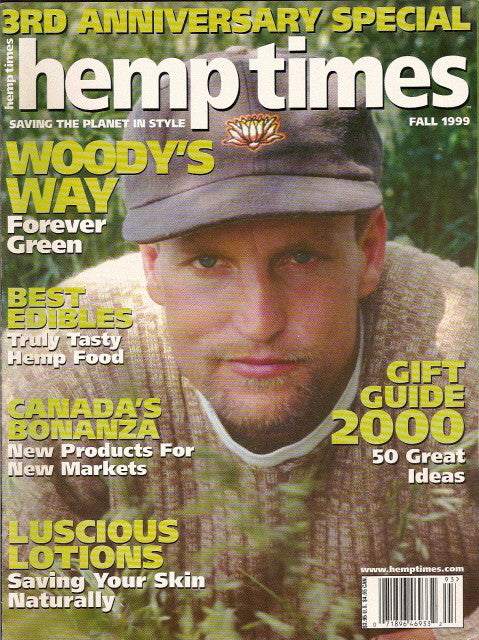 Hemp Times volume 3 number 4 - Fall 1999