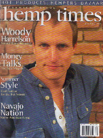 Hemp Times volume 1 number 1 - July/Aug 1996
