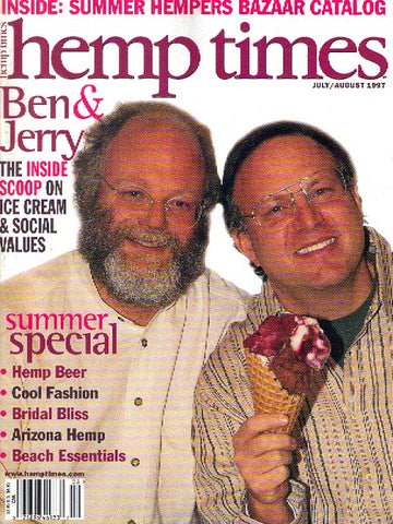 Hemp Times volume 1 number 5 - July/August 1997