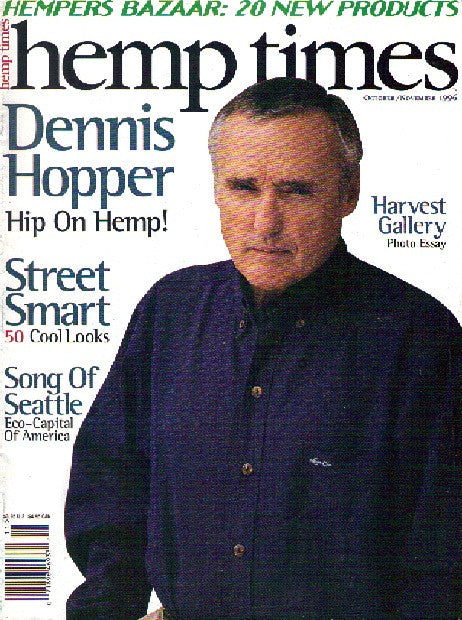 Hemp Times volume 1 number 2 - Oct/Nov 1996