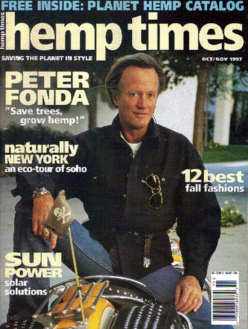 Hemp Times volume 2 number 1 - Oct/Nov 1997