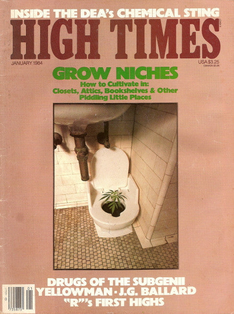 High Times Magazine # 101 - January 1984
