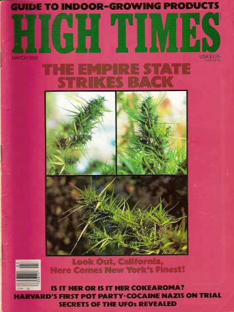 High Times Magazine # 103 - March 1984