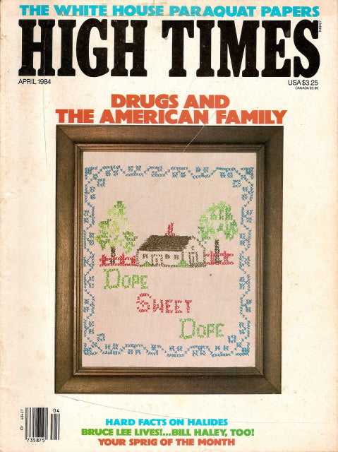 High Times Magazine # 104 - April 1984