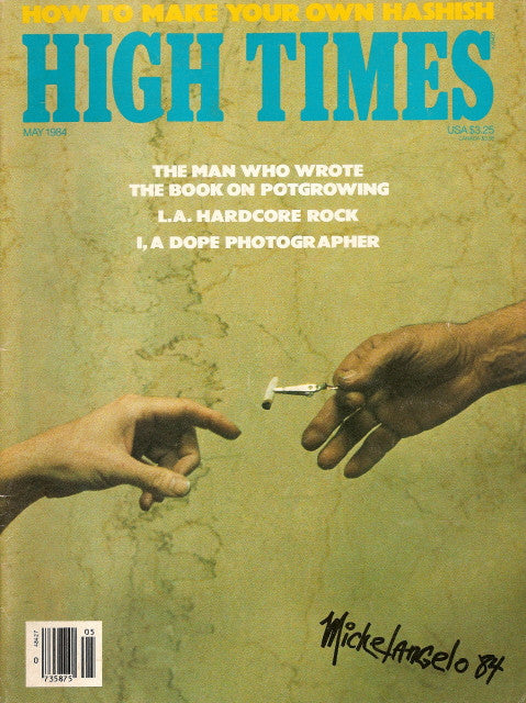 High Times Magazine # 105 - May 1984