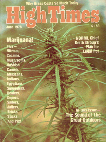 High Times Magazine # 10, June 1976