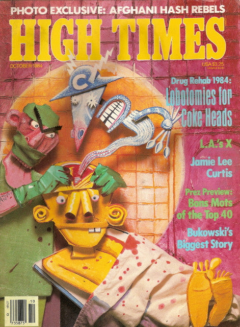 High Times Magazine # 110 - October 1984