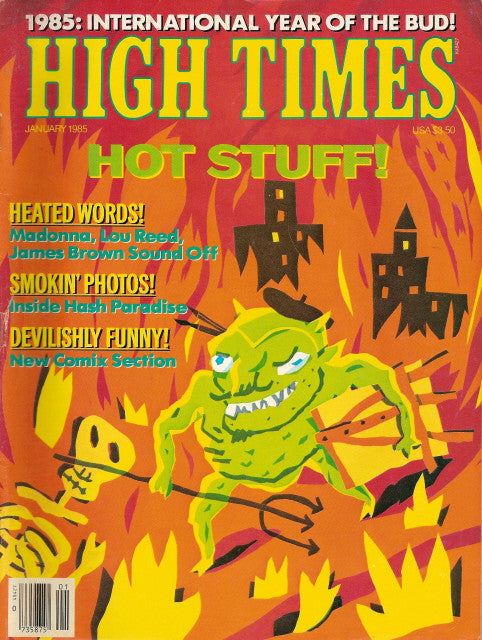 High Times Magazine # 113 - January 1985