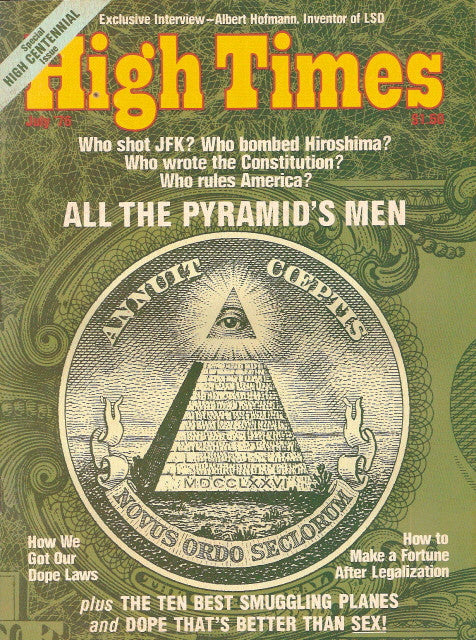 High Times Magazine # 11, July 1976