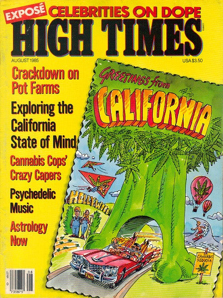 High Times Magazine # 120 - August 1985