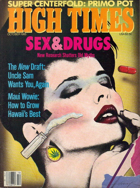 High Times Magazine # 122 - October 1985