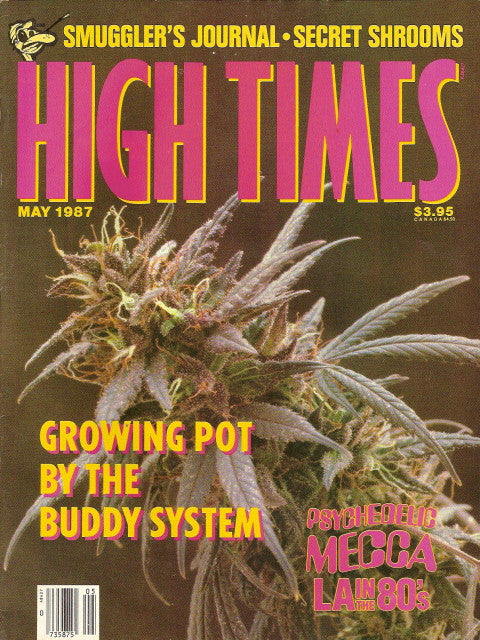 High Times Magazine # 141 - May 1987