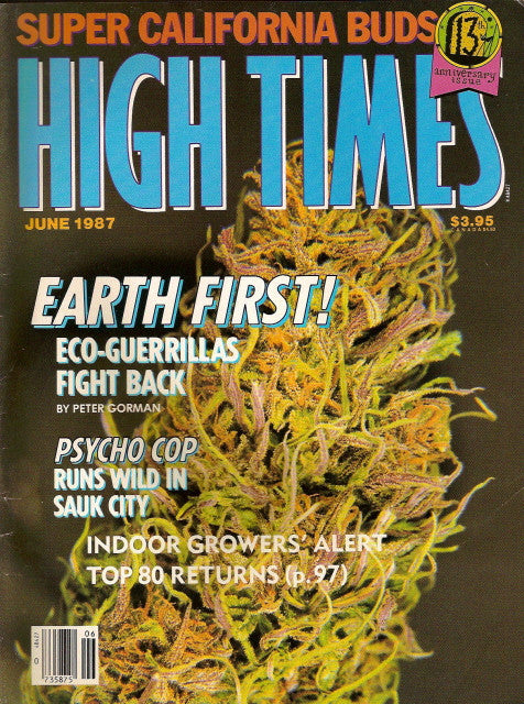 High Times Magazine # 142 - June 1987