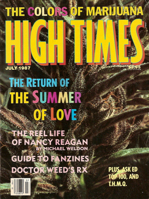 High Times Magazine # 143 - July 1987